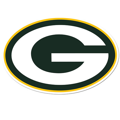 "Green Bay Packers 8"" Auto Decal"