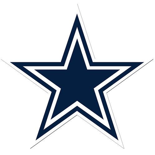 """Dallas Cowboys 8"""" Auto Decal"""