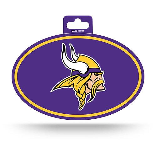 Minnesota Vikings Oval Sticker