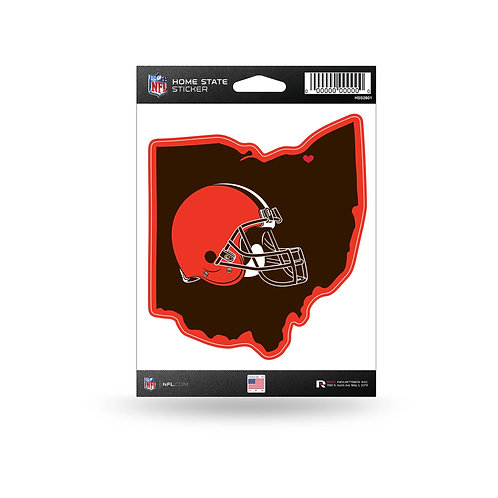Cleveland Browns Home State Sticker