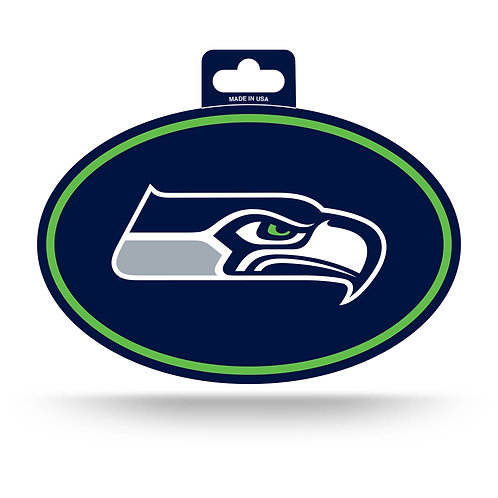 Seattle Seahawks Oval Sticker