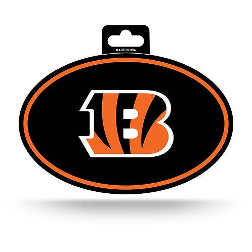 Cincinnati Bengals Oval Sticker