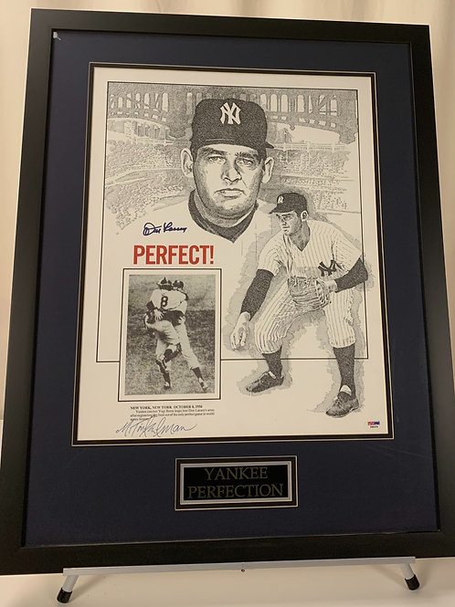 New York Yankees Don Larsen Autographed Perfect Game