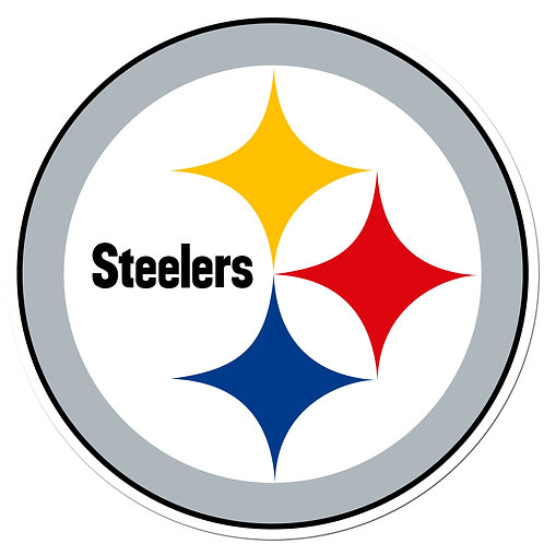 "Pittsburgh Steelers 8"" Auto Decal"