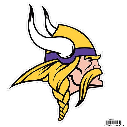 """Minnesota Vikings 8"""" Logo Magnet"""