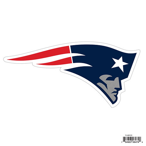 "New England Patriots 8"" Logo Magnet"