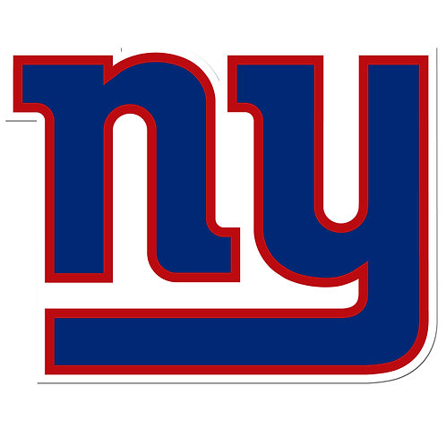 "New York Giants 8"" Auto Decal"