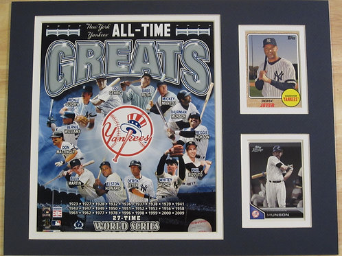 New York Yankees All-Time Greats Matted Photo