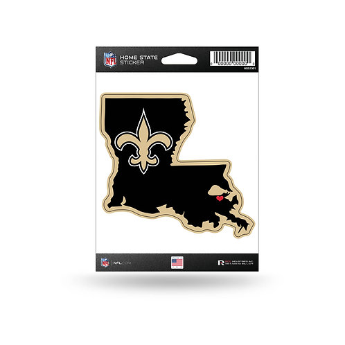 New Orleans Saints Home State Sticker