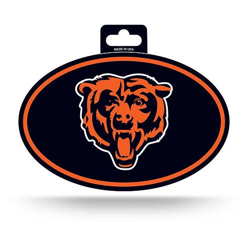 Chicago Bears Oval Sticker
