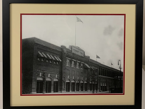 Boston Red Sox 1914 Fenway Park Photo