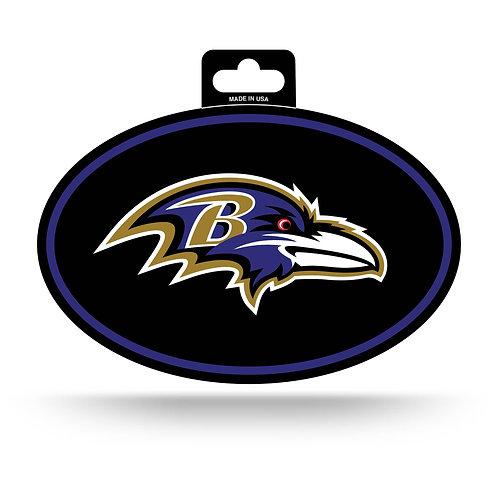 Baltimore Ravens Oval Sticker