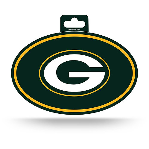 Green Bay Packers Oval Sticker