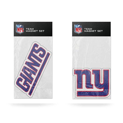 New York Giants 2-Pack Magnet Set