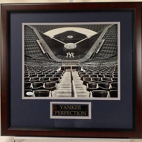 New York Yankees Don Larsen & Yogi Berra Autographed