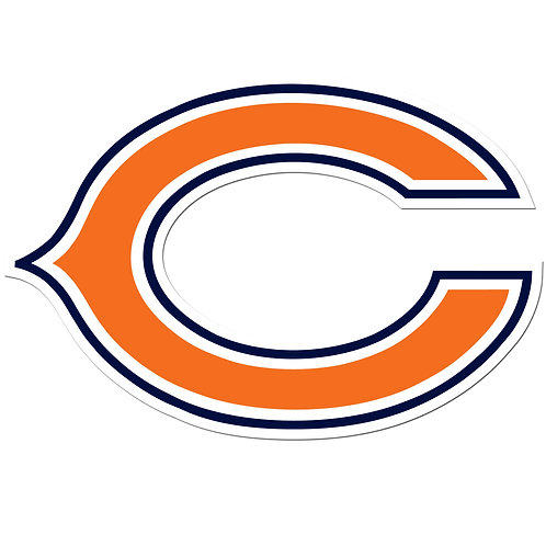 "Chicago Bears 8"" Auto Decal"