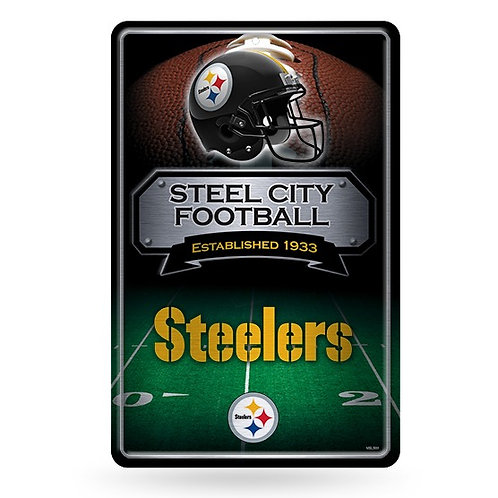 Pittsburgh Steelers Metal Sign