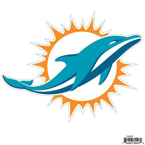 """Miami Dolphins 8"""" Logo Magnet"""