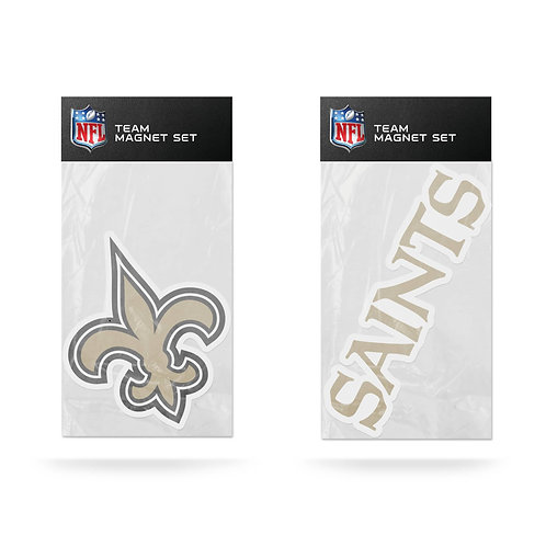 New Orleans Saints 2-Pack Magnet Set
