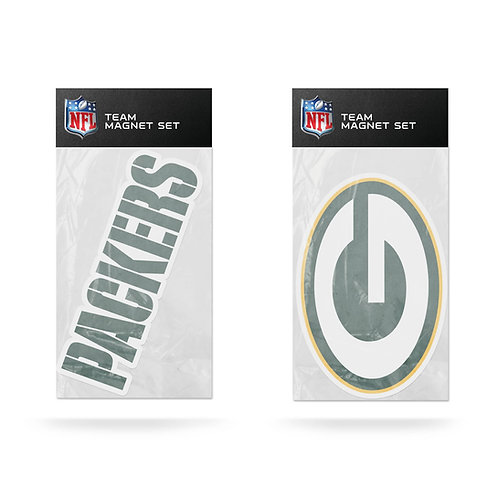 Green Bay Packers 2-Pack Magnet Set