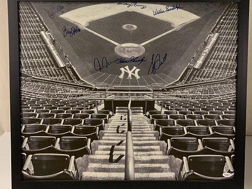 New York Yankees 1978 Championship Team Autographs