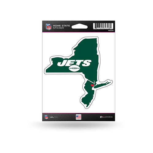 New York Jets Home State Sticker