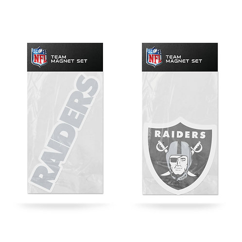 Oakland (Las Vegas) Raiders 2-Pack Magnet Set