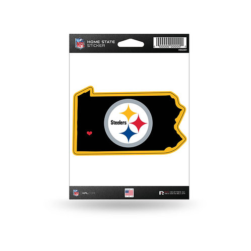 Pittsburgh Steelers Home State Sticker