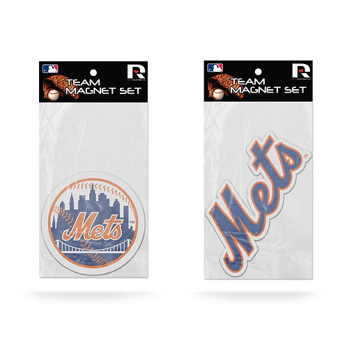 New York Mets 2-Pack Magnet Set