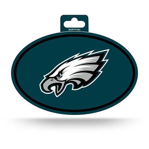 Philadelphia Eagles Oval Sticker