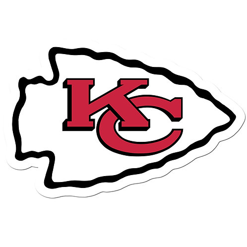 "Kansas City Chiefs 8"" Auto Decal"