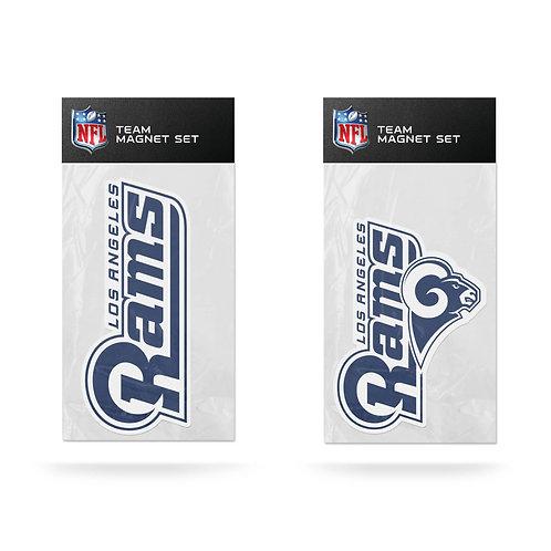 Los Angeles Rams 2-Pack Magnet Set