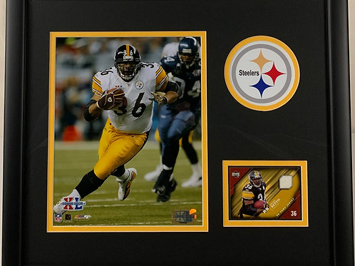 Pittsburgh Steelers Jerome Bettis Game Used Jersey Card