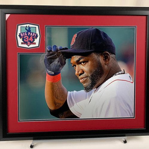 Boston Red Sox David Ortiz Final Season with Logo