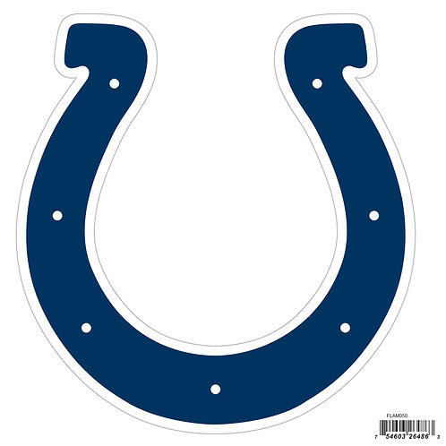 """Indianapolis Colts 8"""" Logo Magnet"""
