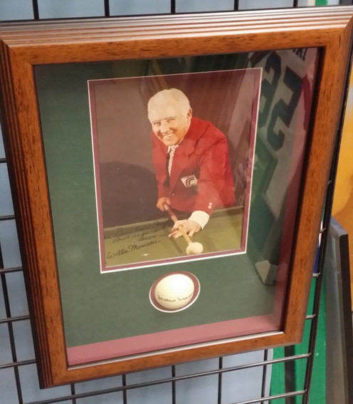 Custom Billiards Memorabilia