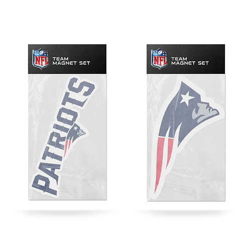 New England Patriots 2-Pack Magnet Set