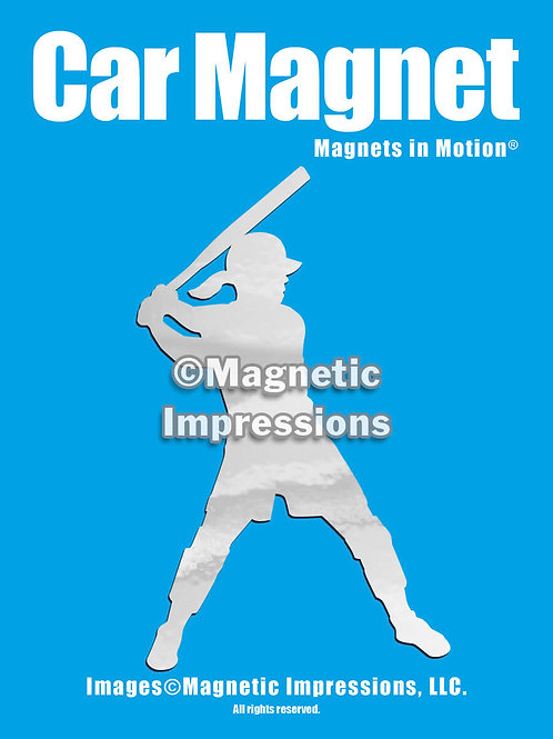 Softball Batter Magnet in Motion