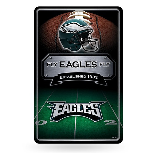 Philadelphia Eagles Metal Sign