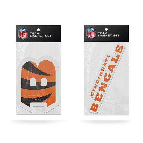 Cincinnati Bengals 2-Pack Magnet Set