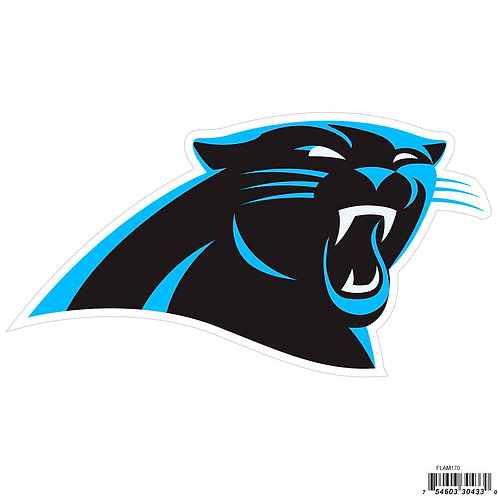"""Carolina Panthers 8"""" Logo Magnet"""