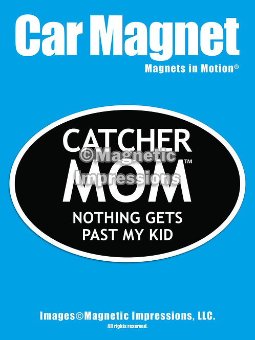 Catcher Mom Magnet
