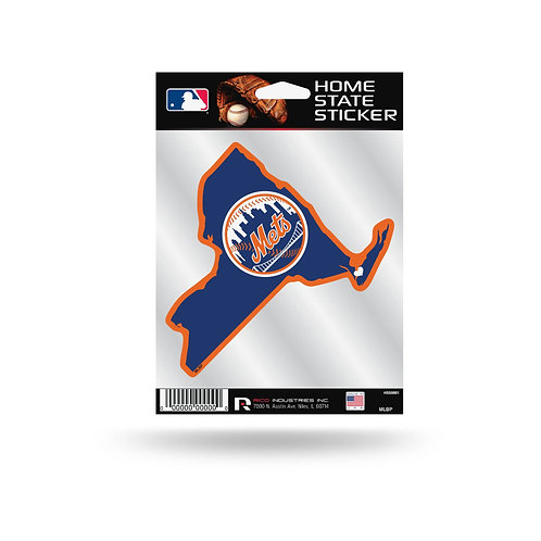 New York Mets Home State Sticker