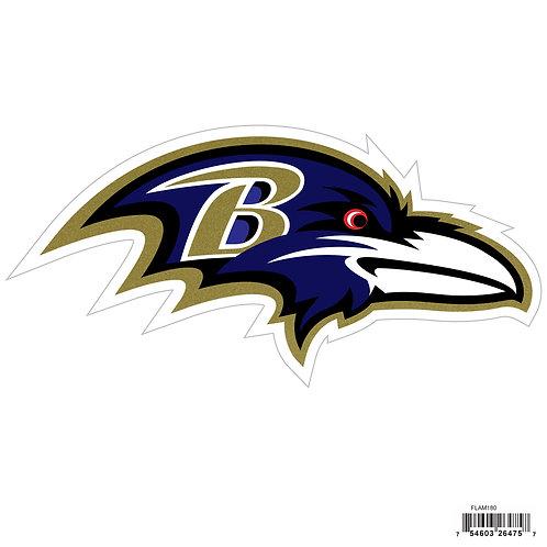 """Baltimore Ravens 8"""" Logo Magnet"""