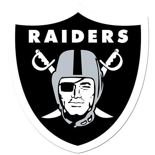 "Oakland (Las Vegas) Raiders 8"" Auto Decal"