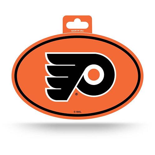 Philadelphia Flyers Oval Sticker