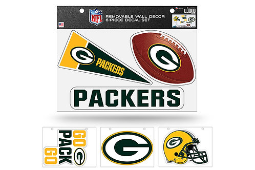 Green Bay Packers6 pack Wall Decals