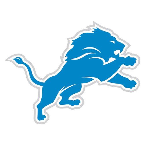 """Detroit Lions 8"""" Logo Magnet"""