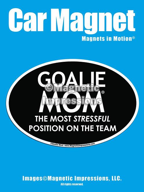 Goalie Mom Magnet