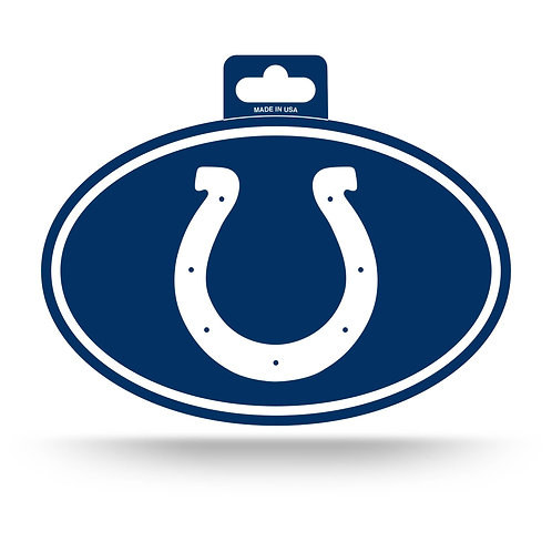Indianapolis Colts Oval Sticker